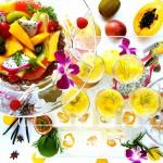 Summer desert buffet